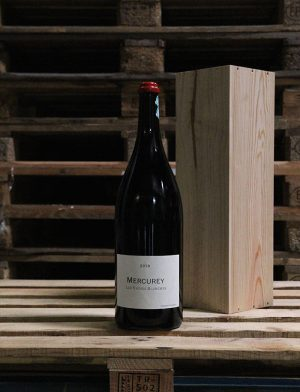 Jéroboam Mercurey Les Vignes Blanches Rouge 2018, Frédéric Cossard