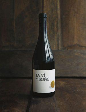 La vi y sone Blanc 2012, Bodega Barranco Oscuro