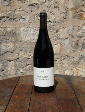 Mercurey Les Vignes Blanches Rouge 2018, Frédéric Cossard