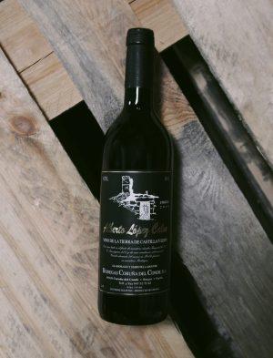 Alberto López Calvo – vino tinto (rouge) 2009, Bodegas Coruña del Conde