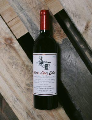 Alberto López Calvo – vino tinto (rouge) 2010, Bodegas Coruña del Conde
